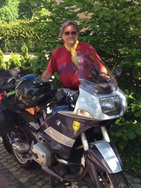 Einer unserer liebsten Stammgäste- und sein Bike