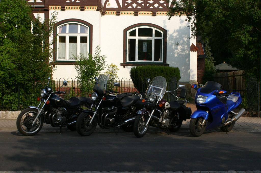 Ideal für Biker- die Villa Rossek in Bad Liebenstein