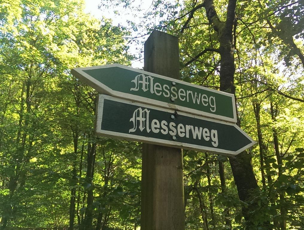 Der Messerweg führt von Ruhla nach Steinbach.