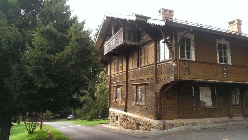Das alte Forsthaus am Kissel- hier ist ein idealer Startpunkt.