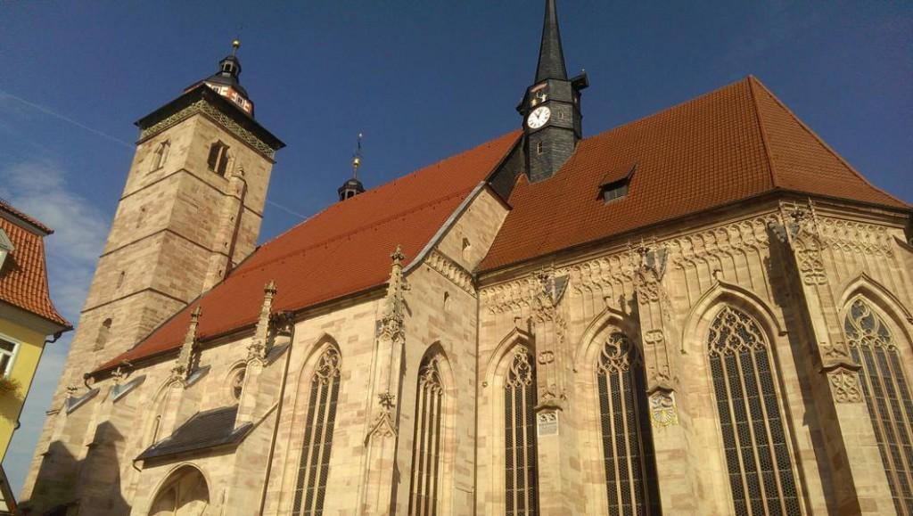 Die Stadtkirche - erbaut im Jahr 1585