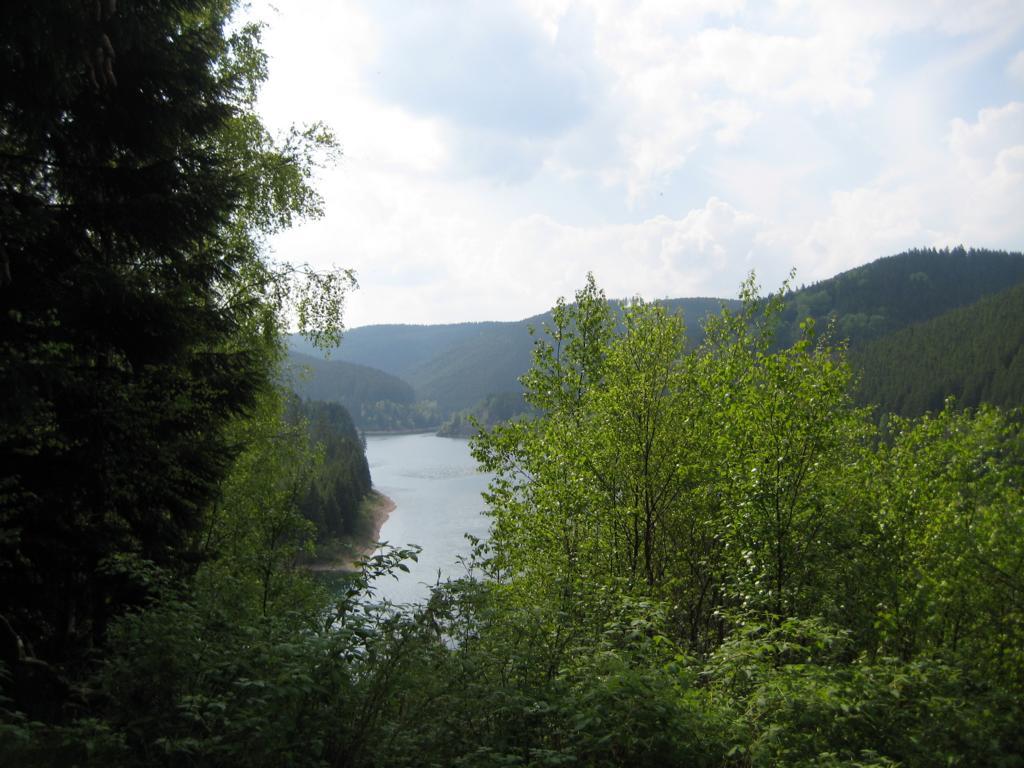 Traumhafte Landschaften entlang der Route