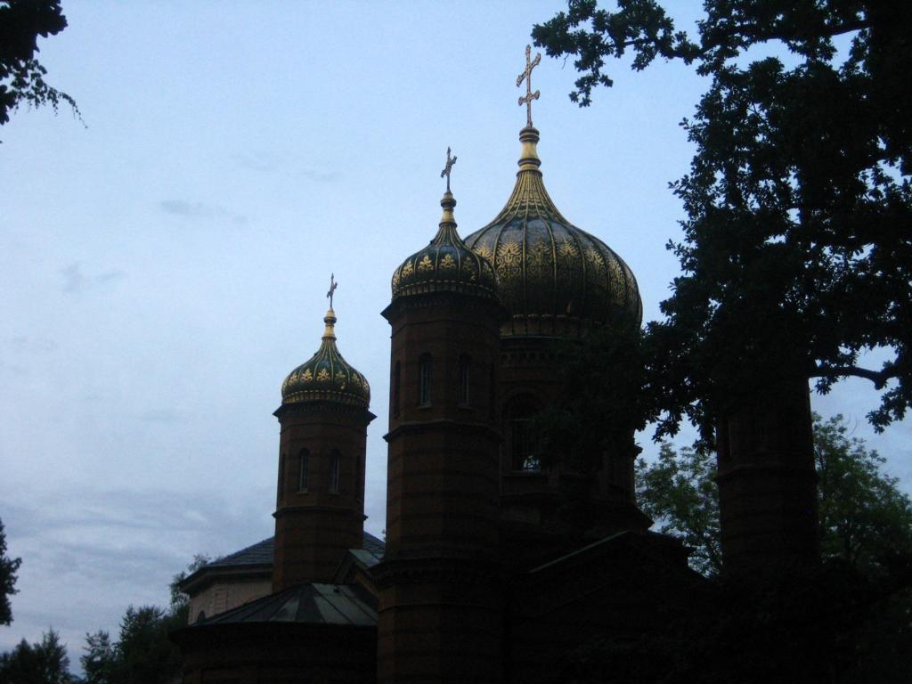Russisch- Orthodoxe Kapelle auf dem alten Weimaer Friedhof- Ruhestätte von Maria Pawlowna