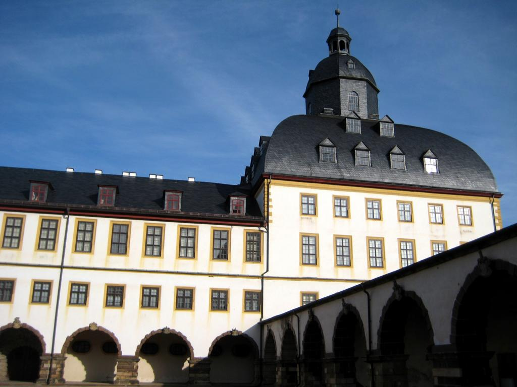Schloß Friedenstein mit senem 365 Zimmern...