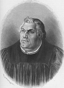 Martin Luther- übersetzte auf der Wartburg die Bibel