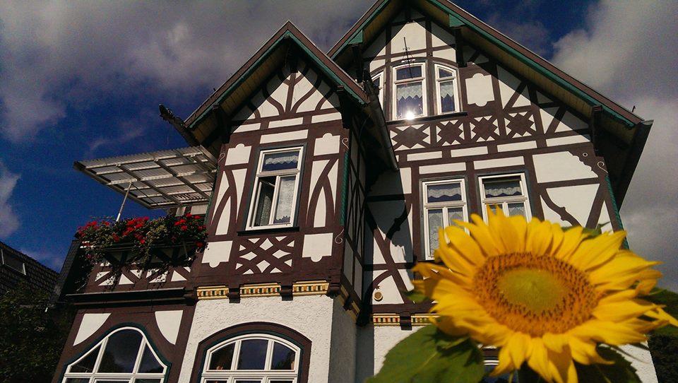 Villa Rossek im Sommer